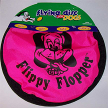 Flippy Flopper Dog Frisbee