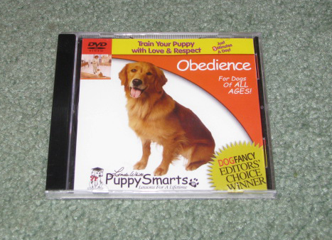 Obedience training dvd video for dogs.