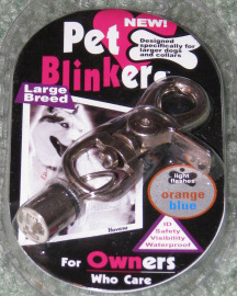 Dog and Pet Blinkers